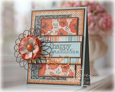 Graduation card by Andrea Ewen using Verve Stamps.  #vervestamps