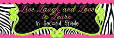 Live, Laugh, and Love to Learn in second grade blog