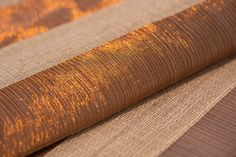 Plantain Fiber And Copper Curtain Contemporary, Metal, Natural Fiber, Decorative Object by Verdi Window Hardware, Drapery Hardware, Contemporary Decorative Objects, Contemporary Furniture, Fabric Wallpaper, Family Traditions, Window Treatments, Hand Weaving, Branding Design