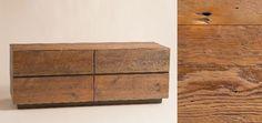 Reclaimed Wood Dresser------>Richardson Reeves Console — Bedroom -- Better Living Through Design