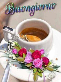 Italian Memes, Coffee Time, Good Morning, Tea Cups, Tableware, Emoticon, Video, Zen, Spanish