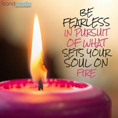Be Fearless in pursuit of what sets your soul on fire  For more......... follow me on Instagram xx