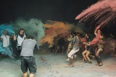 "Behind the scenes on ""The Catalyst""  and a lotta holi powder. #bts  #thecatalystfilm #film #filmmaking101 #shortfilm"