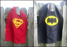 DIY Superhero Cape - Universal sizing available with pattern template!
