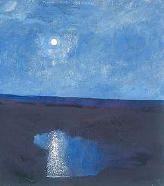 Moon - Kurt Jackson (b. 1961)