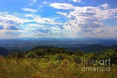 Title  Shenandoah Valley   Artist  Tom Gari Gallery-Three-Photography   Medium  Photograph - #Photography #amazingview #cloudscape #ShenandoahValley .. Stunning!! @tjgiii