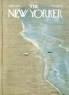 The New Yorker - Monday, July 10, 1978 - Issue # 2786 - Vol. 54 - N° 21 - Cover by : André François