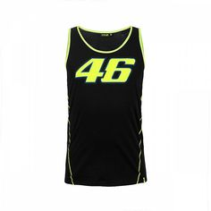 Cotton with inserts in polyester 46 Tank Top DB Valentino Rossi, Vr46, Athletic Tank Tops, Sportswear, Two By Two, Overalls, Racing, Unisex, Cotton