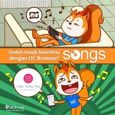 Ini dia cara download Music dengan UC Browser yang bisa kamu ikuti langkah - langkah berikut ini  http://ucbrowserbaru.com/cara-download-music-dengan-uc-browser/