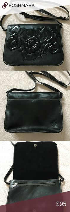 Patricia Nash, Italian leather crossbody bag Lather crossbody bag used only a few times. No signs of wear, inside completely clean with dust bag Patricia Nash Bags Crossbody Bags