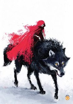 Red Riding I don't normally pin this type of thing but I just couldn't handle it! It's so cool and beautiful!