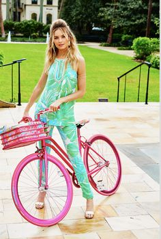 Lilly Pulitzer x Martone Cycling Co. Bike | CoastalLiving.com