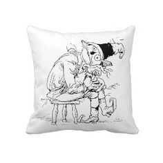 Fall Scarecrow pillow