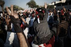 "Feb. 6, 2013. Bahraini protesters flash the ""V"" sign for victory during an anti-government rally to demand reforms, in the village of Diraz, west of the Bahraini capital Manama.      Read more: http://lightbox.time.com/2013/02/08/pictures-of-the-week-february-1-february-8/#ixzz2L9jfSqPJ"