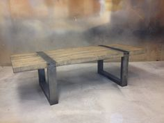 Coffee Table by MetalTreeFurniture on Etsy, $695.00