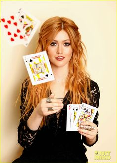 Katherine McNamara Supports Girl Up SchoolCycle Campaign: Photo #898847. Katherine McNamara looks stunning as she flings a deck of cards in an image from a new photo shoot.    Earlier this week, 19-year-old Shadowhunters actress attended…