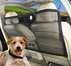 MaruPet Car Net Barrier - Mesh Vehicle Pet Ideal for Trucks, Large SUVs, Full Sized Sedans - Patent Pending - Pet Restraint Car Backseat Divider Vehicle Gate Cargo Area * Check out this great product. (This is an affiliate link and I receive a commission for the sales) #DogCare