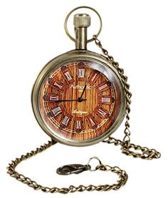 Unisex Antique Case Vintage Brass Rib Chain Quartz Pocket Watch For Men Women - 3.8 CM RoyaltyLane http://www.amazon.co.uk/dp/B01C6XPKDK/ref=cm_sw_r_pi_dp_fdO3wb1M4RRE7