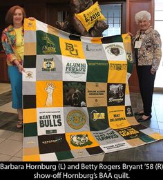 A Waco woman creates T-Shirt Quilts for all. Contact her today for your very own quilt! by leslie