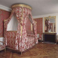 Attique, Petit Trianon, Versailles, chambre de Louis XVI