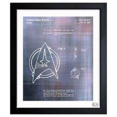 My design inspiration: Starfleet Insignia 1981 on Fab.