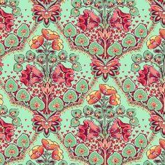quilt_fabric_splurg_fabric_floral_fabric_mint_peach_wilder