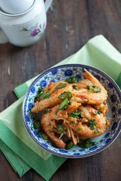 Salt and Pepper Shrimp Recipe | Rasa Malaysia  #shrimp  #Chinese  #Chinese_recipes