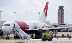 El siniestro ocurrió en el aeropuerto internacional de Fort Lauderdale, de Miami, cuando uno de los motores se prendió en llamas
