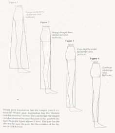 The Naked Seamstress: On Drafting Trousers
