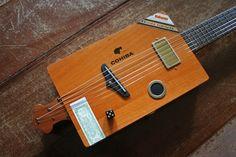 Cigar Box Guitar By Pauleira Custom Guitars - Sao Paulo - Brazil