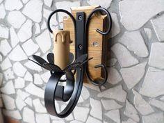Lampadario forgia luci in ferro battuto lanterna applique