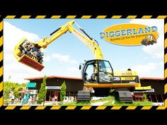 Diggerland UK theme park - Ride and Drive real diggers!