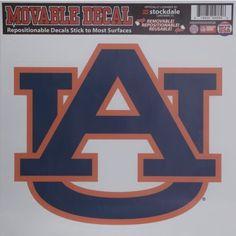 Stockdale Auburn University Single Logo Decal