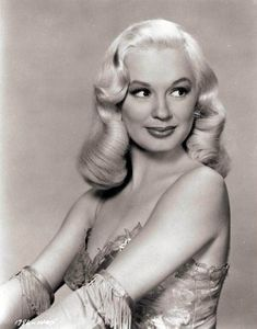 Hair inspiration today from Mamie Van Doren, (Born February 6, 1931)