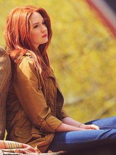 karen gillan as Joanna Scarlett Madison Karen Sheila Gillan, Scarlett, Lily Evans, Rory Williams, Hollywood, Amy Pond, Jenna Coleman, Beautiful Redhead, Woman Crush
