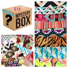 Mystery Box-Headbands-Yoga Headbands-Boho by TheJeweledFeather