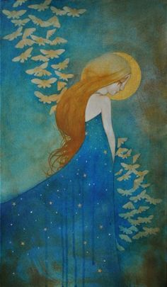 """""""Daughter of the Night"""" ~ Lucy Campbell"""