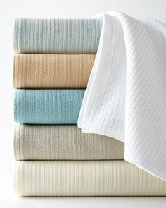 SFERRA Grant Blankets. Blanket features rows of tiny herringbone cables that provide all-season warmth and comforting texture. $ 165
