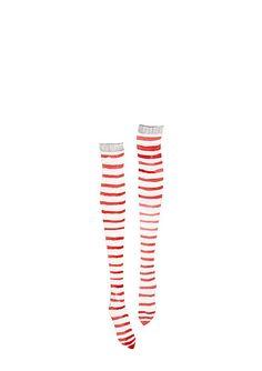 Pippi Longstocking's stockings.  by Susan Keys Illustration, via Flickr - So cute!