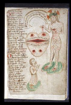 Occult Art, Library Catalog, British Library, Illustrations And Posters, Illuminated Manuscript, 15th Century, Religious Art, Ikon, Saint