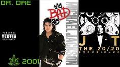 Music albums dr dre 2001 michael jackson bad justin timberlake 20 20