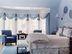 TRADITIONAL COMFORT IN BEAUTIFUL MASTER BEDROOM