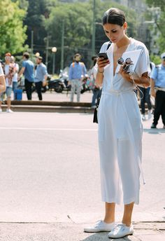 What to Wear in Hot Weather - Street Style, Summer, Shopping