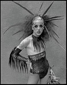 'Girlfriend': Austere portraiture of spectacular 90s drag queens | Dangerous Minds
