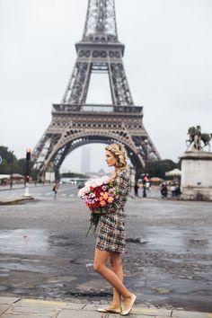 Charlotte Tilbury Barefoot Blonde by Amber Fillerup Clark Tour Eiffel, Wanderlust Travel, Monuments, The Places Youll Go, Places To Go, Paris 3, Paris Pics, Paris France, Amber Fillerup Clark