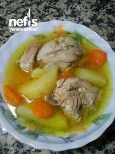 Sebzeli Tavuk Haşlama