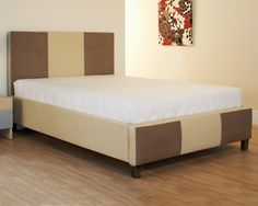 Roma - A striking modern high quality bed frame. The bed features an eye-catching stripy design and is finished with wooden feet. Handcrafted by Purr-O-Lux, bespoke sizes available on request. Bed Frame, Bedroom Furniture, Bespoke, Beds, It Is Finished, Modern, Design, Rome, Bed Furniture