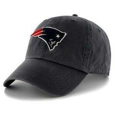 6126acd467e Men s New England Patriots Navy Clean Up Adjustable Hat