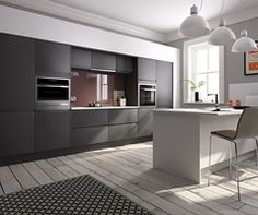 first collection - Skyline contemporary kitchen