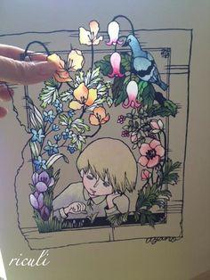 Paper cutting art|小娘の切り絵制作日記